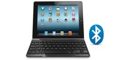 Super thin keyboard for iPad that doubles as a cover, from Logitech.