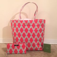 Kate Spade Bag & Wallet BNWT Brand New! Never used, still has original tissue paper. Make an offer! kate spade Bags Totes