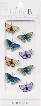 Mini Butterfly Stickers