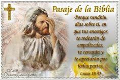 Vidas Santas: Santo Evangelio según san Lucas 19:43