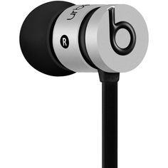 Beats by Dr. Dre urBeats InEar Headphones ($100) ❤ liked on Polyvore featuring headphones, space grey and beats by dr. dre