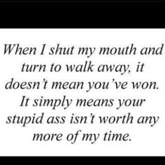 Stupid Ass Isn't worth any more of my time.