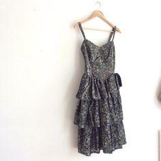 80 s robe de bal / / shimmer robe sirène / / par superqueenieretro