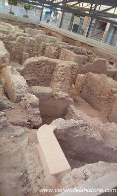 Yacimiento arqueológico de la Plaza de la Fruita, Elche, Alicante, Costa Blanca…