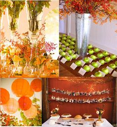 Details: Fall Wedding Ideas
