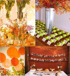 Details: Fall Wedding Ideas