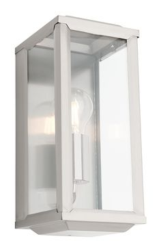 $99 Wall Light Outdoor Black Bronze or Stainless Steel E27 in 28cm Anglesea Cougar | GoLights.com.au