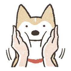 Shiba Inu (Shiba-Dog) stickers - vol.2 - 크리에이터스 스티커