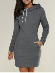 SHARE & Get it FREE | Long Sleeve Mini Sheath Hoodie DressFor Fashion Lovers only:80,000+ Items • New Arrivals Daily • Affordable Casual to Chic for Every Occasion Join Sammydress: Get YOUR $50 NOW!