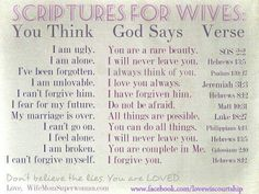 Scriptures for Wives
