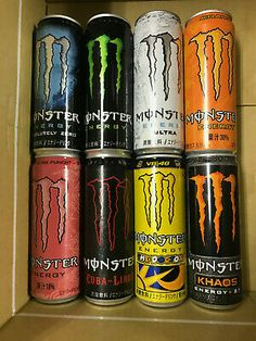 Excellent condition cans, top-SEALED / bottom-opened. Combine with other Monster cans (ask if you do not see them listed - I have all Japanese cans). Havana Club Cocktail, Cuba Libre Cocktail, Monster Energy Drinks, Cigar Party Theme, Rum Cocktails, Brandy Alexander, Memes Arte, Cigar Art, Foto Poster