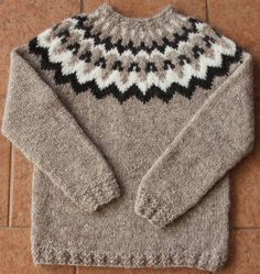 Shop for on Etsy, the place to express your creativity through the buying and selling of handmade and vintage goods. Fair Isle Knitting Patterns, Knit Patterns, Crochet For Kids, Knit Crochet, Guangzhou, Icelandic Sweaters, Boys Sweaters, Sweater Outfits, Women Wear