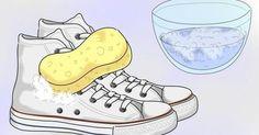 ¿Quieres devolver la blancura a tus zapatillas? ¡Aquí tienes un truco!