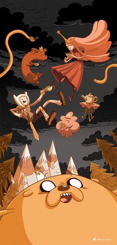 Adventure Time by Douglas Holgate