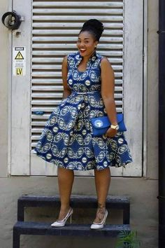 ♡African Print in Fashion … – African Fashion Dresses - African Styles for Ladies African Dresses For Women, African Print Dresses, African Print Fashion, Africa Fashion, African Fashion Dresses, African Attire, African Wear, African Women, African Prints