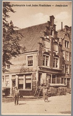 Amsterdam Jordaan, I Amsterdam, Strange Photos, 10 Picture, Old Postcards, The Good Old Days, Vintage Photography, Old Pictures, 17th Century