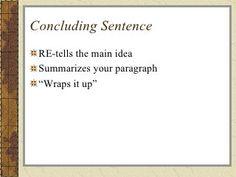 great concluding sentences