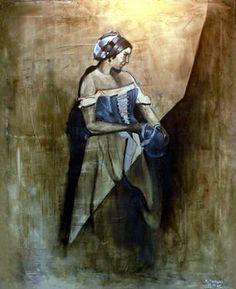 Village woman (SOLD)