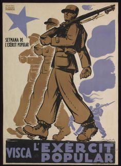 Visca l'exèrcit popular : Setmana de l'exèrcit popular :: Cartells (Biblioteca…