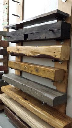 Barn beam mantels from Rebarn