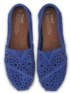 TOMS - cobalt blue Moroccan cutouts http://rstyle.me/~1zAhh