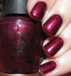 The PolishAholic: OPI Holiday 2015 Starlight Collection Swatches & Review.  This Shade: Let Your Love Shine