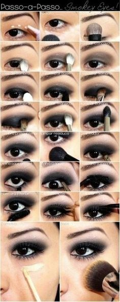 smokey eyes how to for single lid eyes