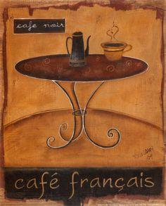 Cafe Francais by Km Klassen
