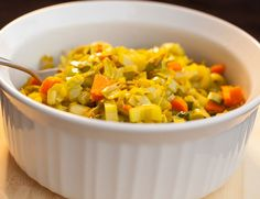 Easy Healthy Dinner Ideas - Paleo Curry Leeks - Click Pic for 38 Easy Healthy Dinner Recipes