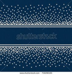Find Christmas Sweater Design Seamless Knitting Pattern stock images in HD and millions of other royalty-free stock photos, illustrations and vectors in the Shutterstock collection. Intarsia Patterns, Fair Isle Knitting Patterns, Knitting Charts, Loom Patterns, Knitting Stitches, Knitting Designs, Stitch Patterns, New Year Designs, Knitting For Kids
