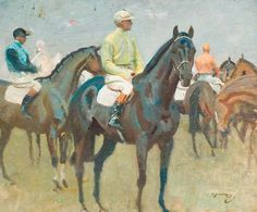 BBC - Your Paintings - Before the Race