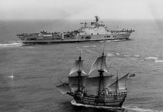 HMS Ark Royal and Mayflower II