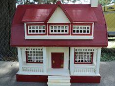 Red-roofed Moritz Gottschalk dollhouse