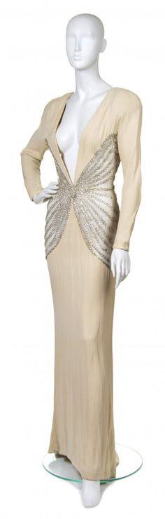 Balestra, (Italian, b. 1924), Evening Gown 1940s