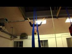 Aerial Silks - Butterfly Drop  I'd really like to try this one soon