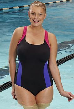 c5c9fa48fe83c Chlorine Resistant Xtra Life Lycra Freestyle V-Back Swimsuit Swimsuits For  All