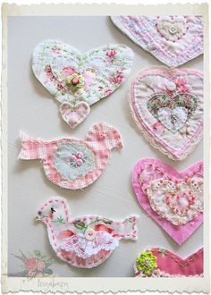 All Things Shabby and Beautiful ~ how cute are these ~❥