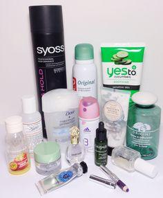 Aufgebrauchte Kosmetik August 2014