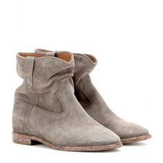 Isabel Marant - Veloursleder-Boots Crisi - mytheresa.com GmbH