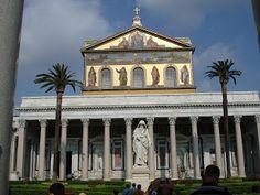 Basílica de São Paulo Fora dos Muros - Roma - Itália