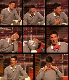 Haha! Oh Novak-- you're so funny ;)