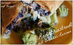Radicchiostruld mit Brokkoli-Rosinen als Beilage - vegan by AURELIA