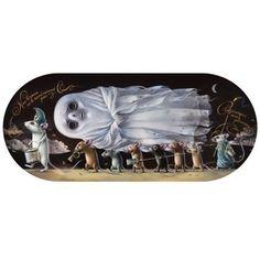 """Femke Hiemstra    'Death of a Ghost' 5.7 x 17"""" ©2009"""