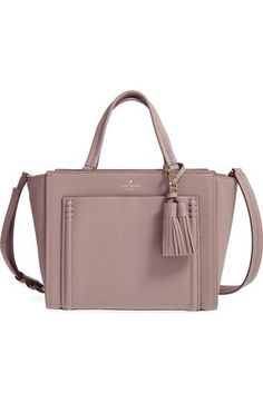 7cef5ff61483 kate spade new york 'orchard street - dillon' tassel leather satchel  available… #