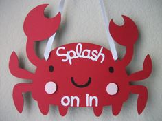 Under the Sea Crab Party Crab Party, Sea Crab, Crab Feast, Classroom Crafts, Classroom Ideas, Under The Sea Theme, Nautical Party, Party Activities, Childrens Party
