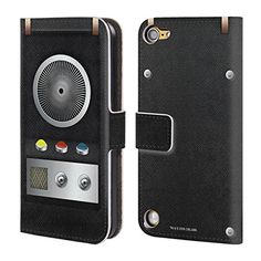 Official Star Trek Communicator Gadgets Leather Book Wallet Case Cover For iPod Touch 5th Gen  6th Gen >>> Check out the image by visiting the link. (Note:Amazon affiliate link)