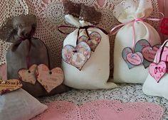 Шаблоны сердечек для декора подарка