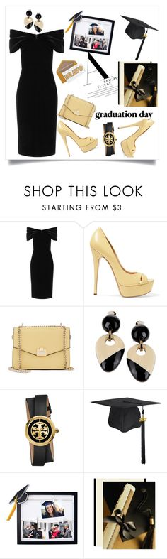 """Graduation Day"" by mensy-hm ❤ liked on Polyvore featuring Emilio De La Morena, Casadei, Jennifer Lopez, Marni, Tory Burch, New View, Graduation and the"