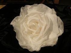 grande fleur en soie