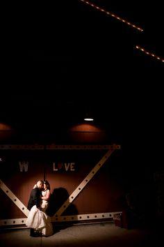 Dramatic wedding lighting!  Kirstin Burrows Photography Southern California Wedding Photographer